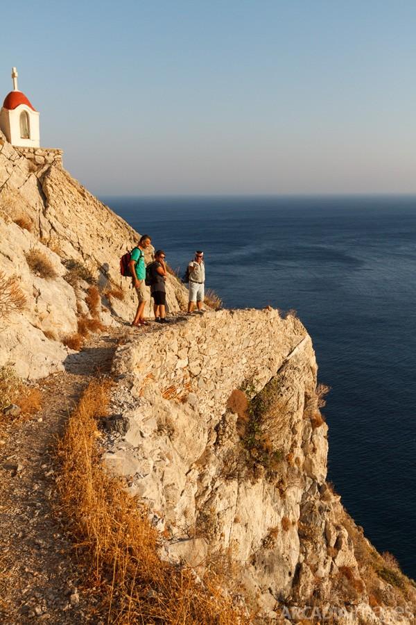 Hiking towards Aghia Eirini (Saint Irene) monastery, Cape Malea, Laconia, Peloponnese