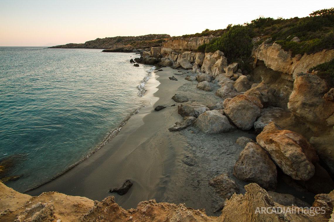Aspes beach near Profitis Elias village, Malea peninsula, Laconia, Peloponnese
